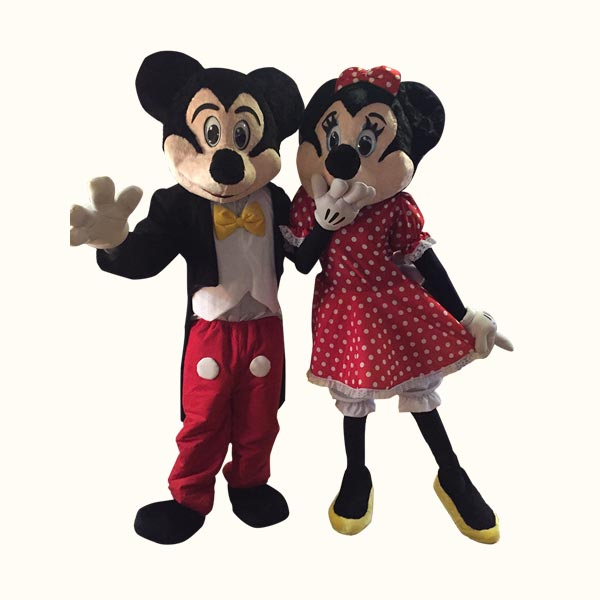 Mr. and Mrs. Mouse