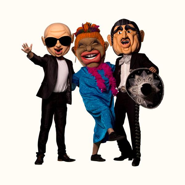 Pitbull, Celia Cruz, Vicente Fernandez