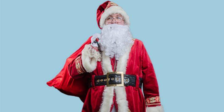 Santa Party Character