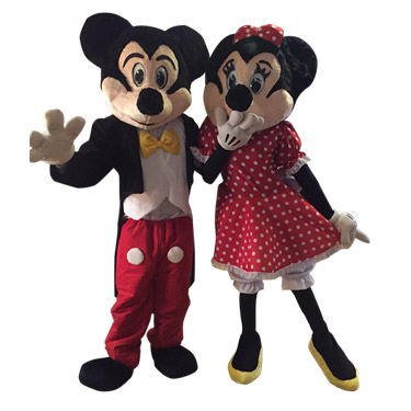 Mr. and Mrs. Mouse Party Characters