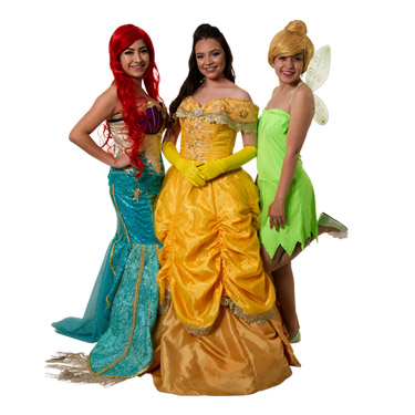 Princesses Party Characters